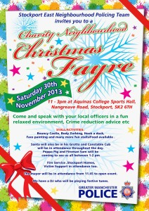 J Div - Xmas Fayre - Posters and Flyers